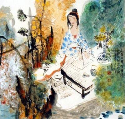 [图]容陋才佳中国古代四大丑女图片