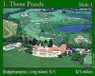 职场 理财 明星理财      纵观美国十大豪宅,可以看出纽约长岛是豪宅